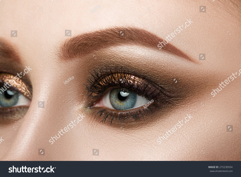 view of eyes makeup - photo #3