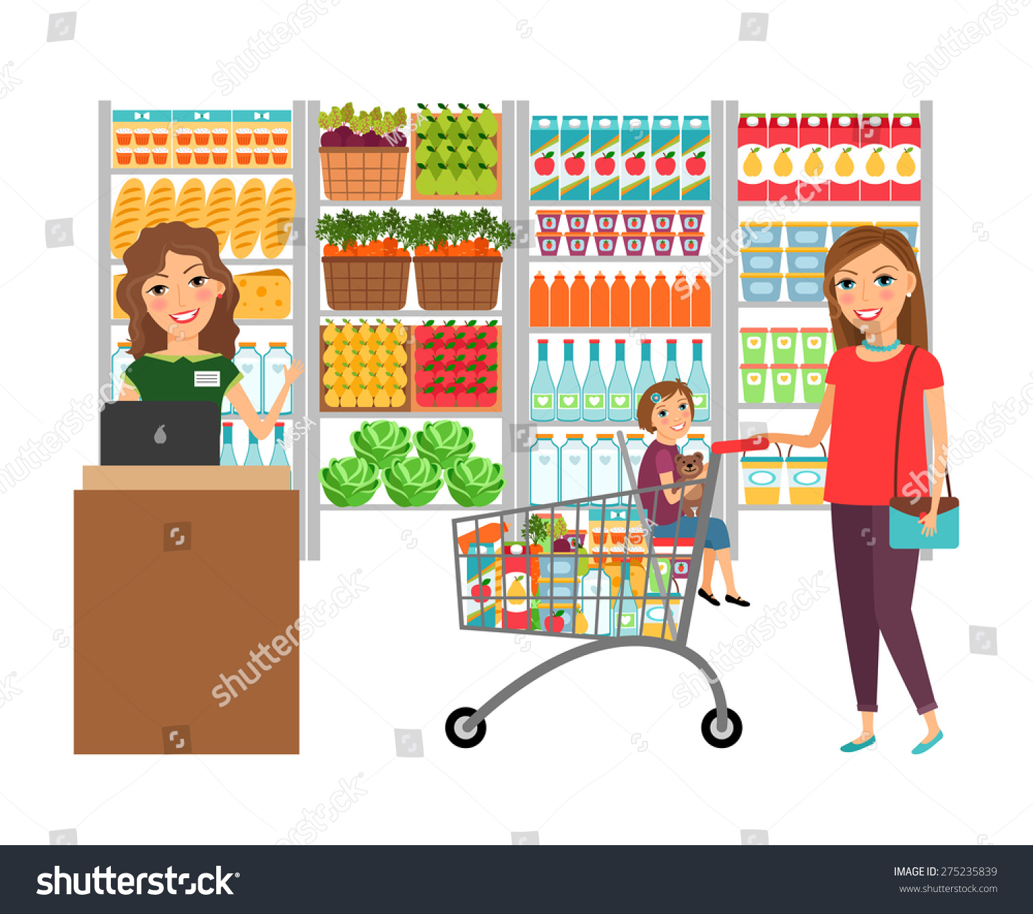 "essay about shopping in a supermarket Compare and contrast essay: shopping online and in stores shopping online and in stores heidi mehlberg ""yup when shopping at a store."