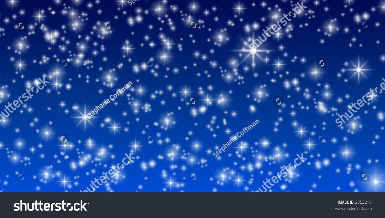 Starry Night Background Stock Photo 2753216 : Shutterstock