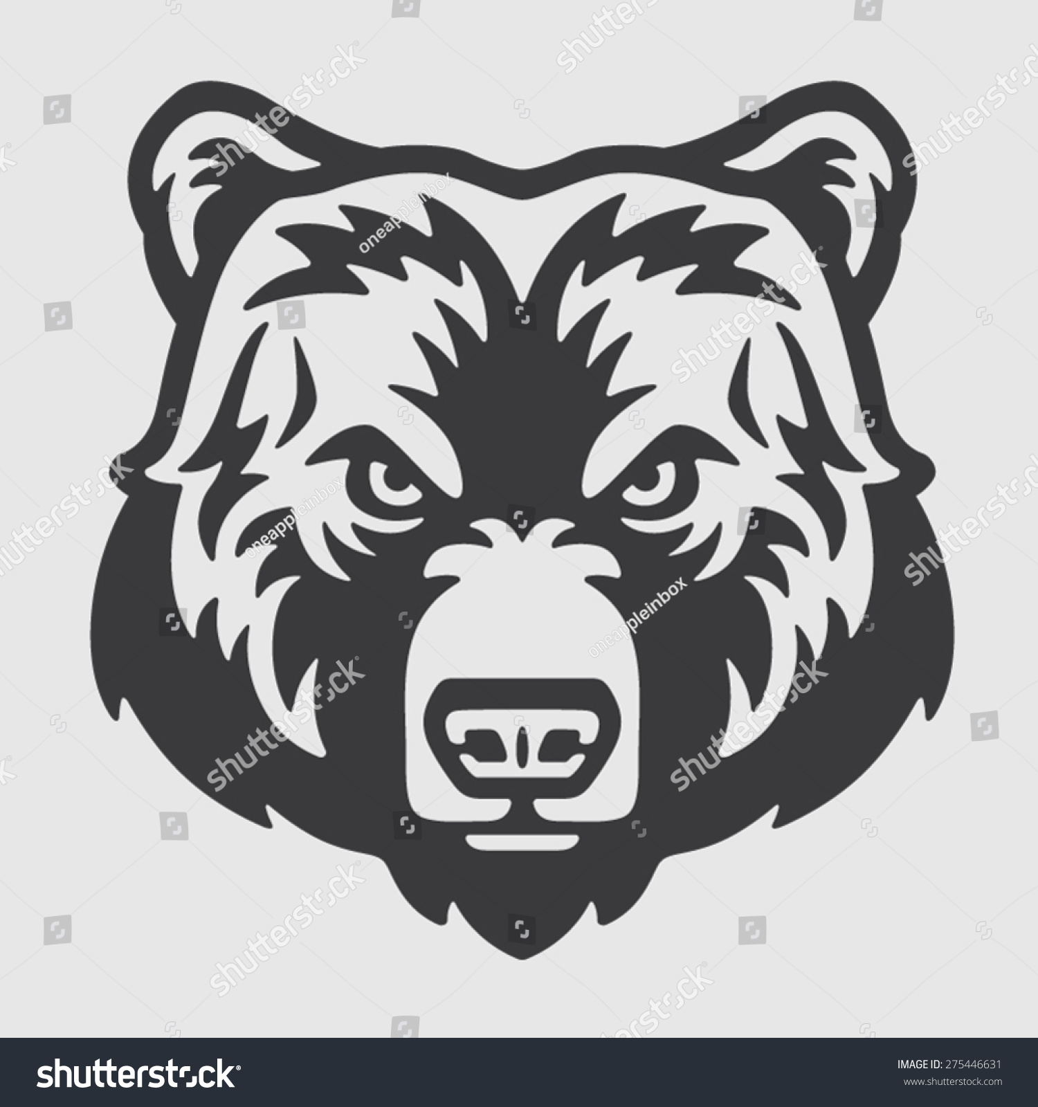 Grizzly Bear Face Logo | www.galleryhip.com - The Hippest Pics Grizzly Bear Face Logo