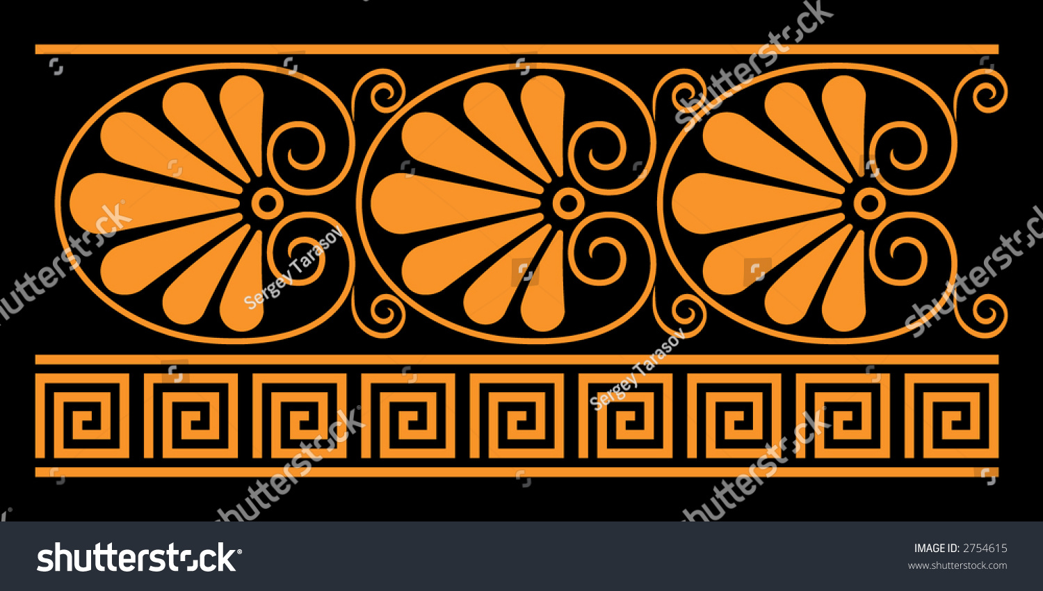 Ancient greek decorative elements they were stock vector 2754615 ancient greek decorative elements they were used for vase painting in ancient greece reviewsmspy