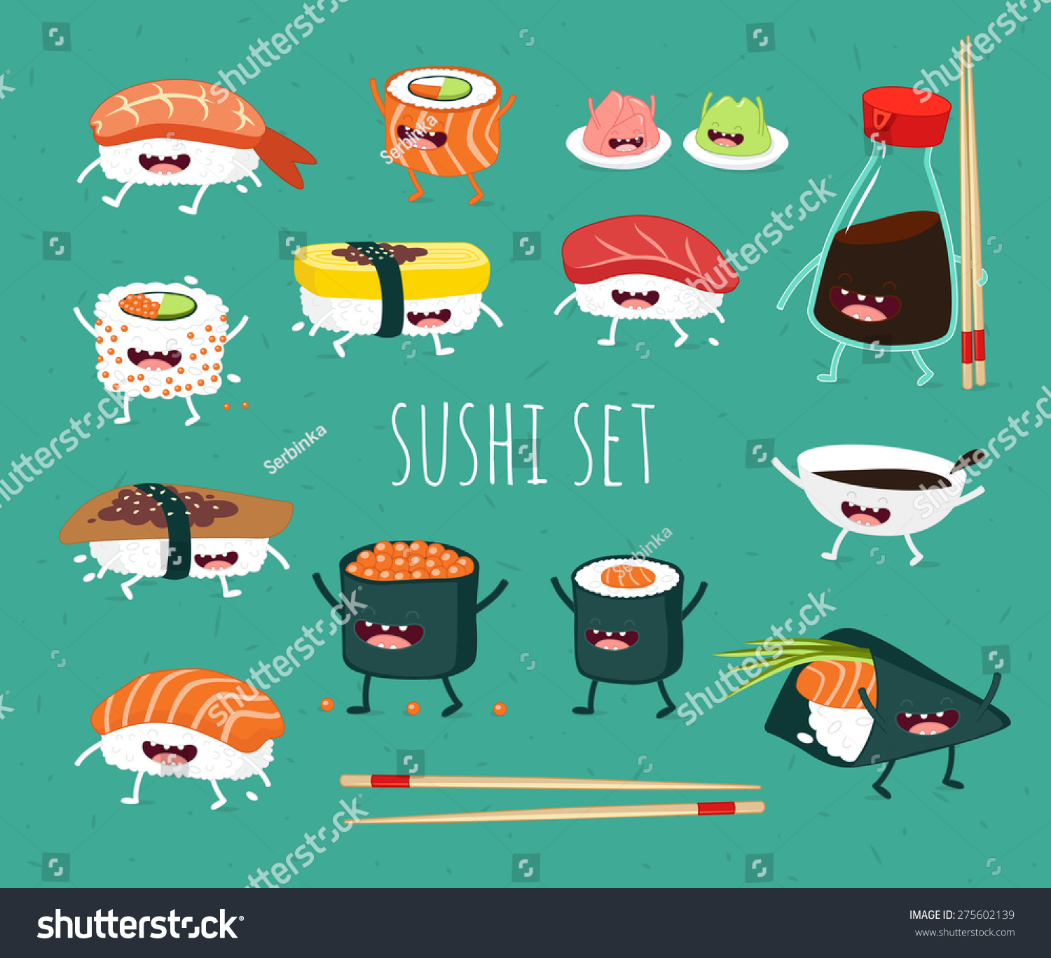 how to draw sushi roll