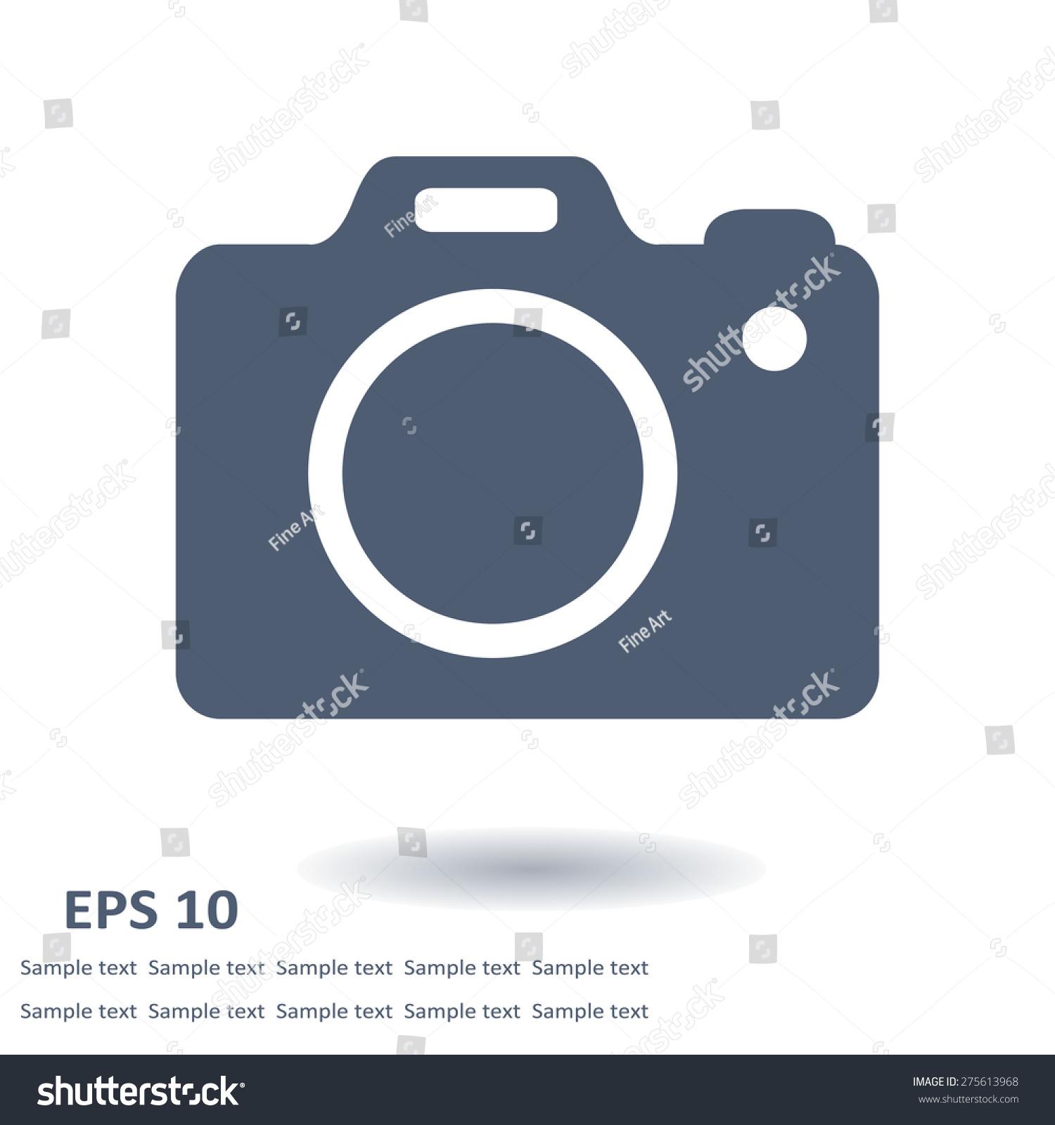 Photo Camera Symbol Dslr Camera Sign Stock Vector 275613968