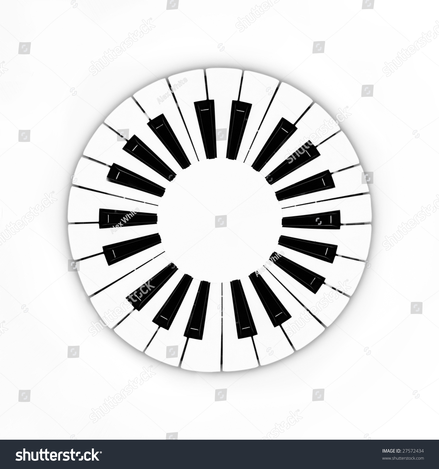 how to play circles on piano