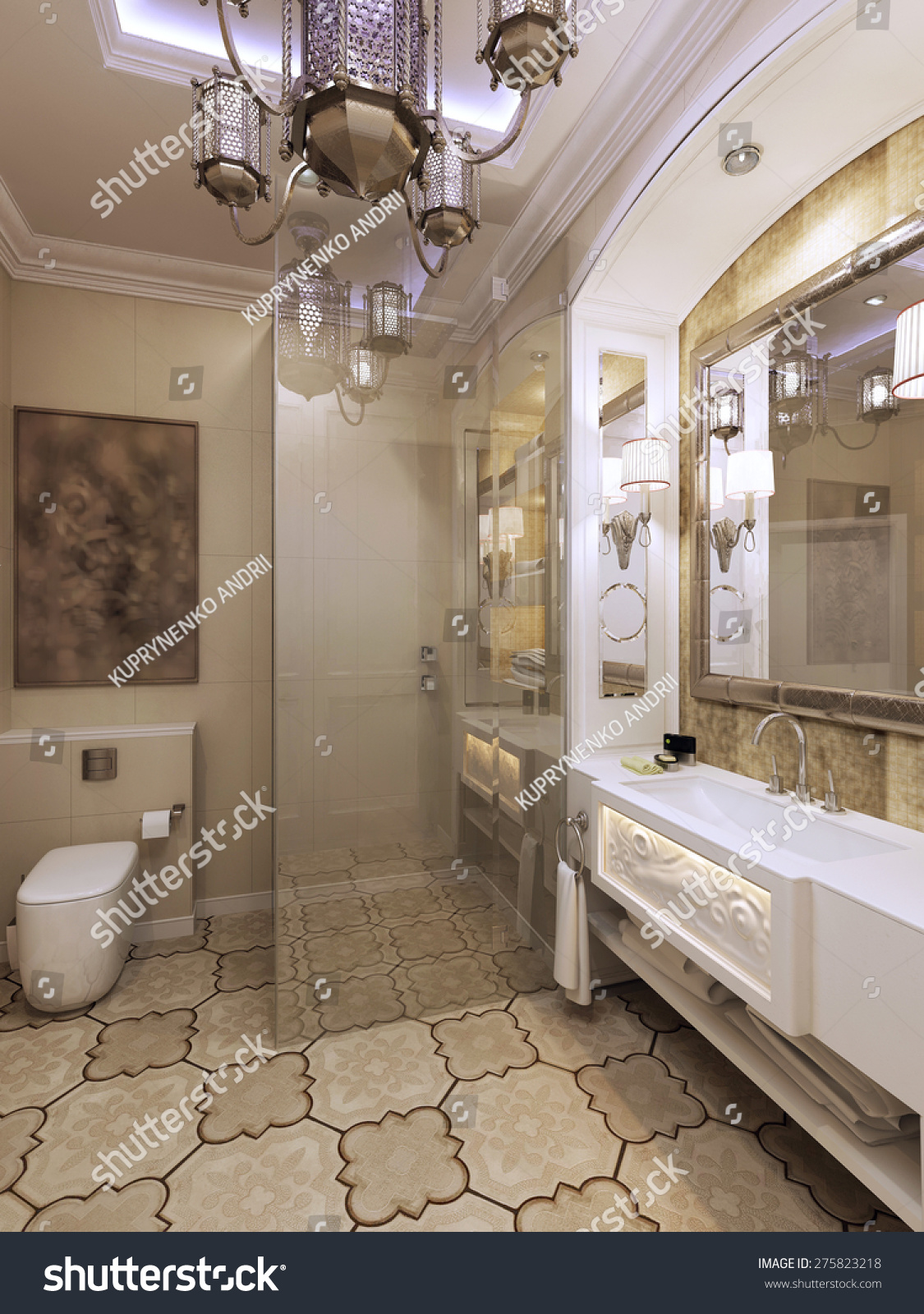 Bathroom moroccan style - Outstanding Bathroom Moroccan Style Photos Best Inspiration Home