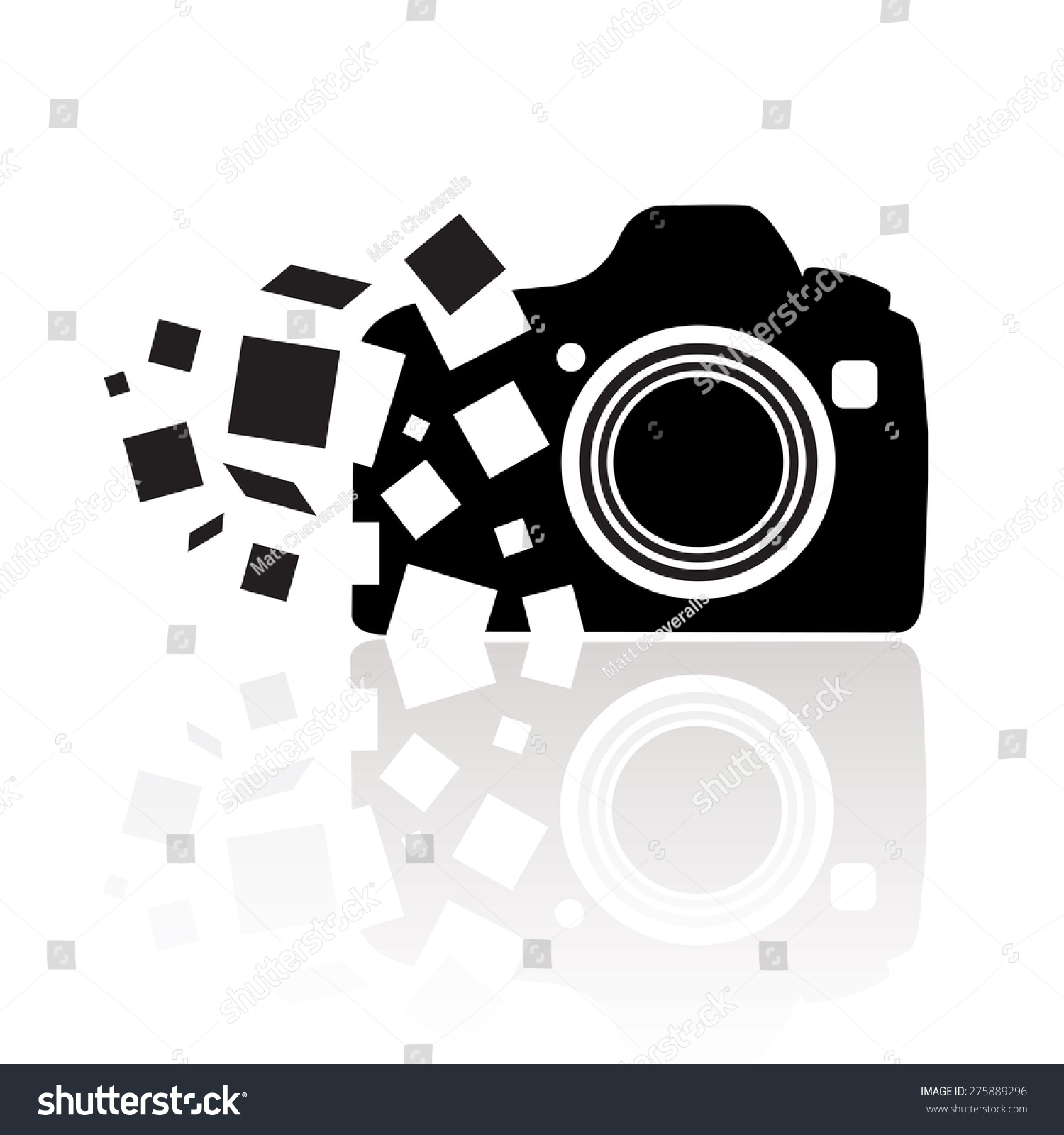 Photography Camera Icon Vector Stock Vector 275889296 - Shutterstock