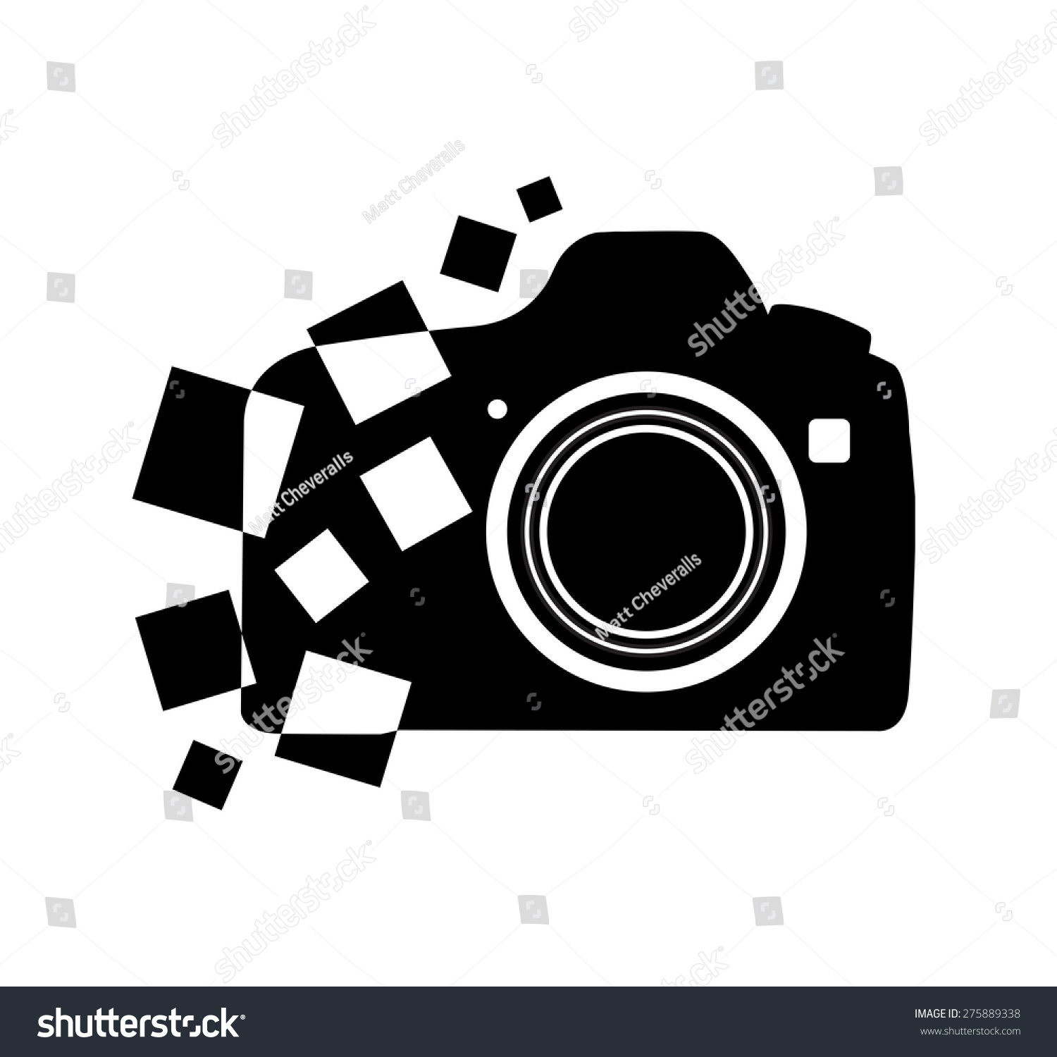 Photography Camera Icon Vector Stock Vector 275889338 - Shutterstock