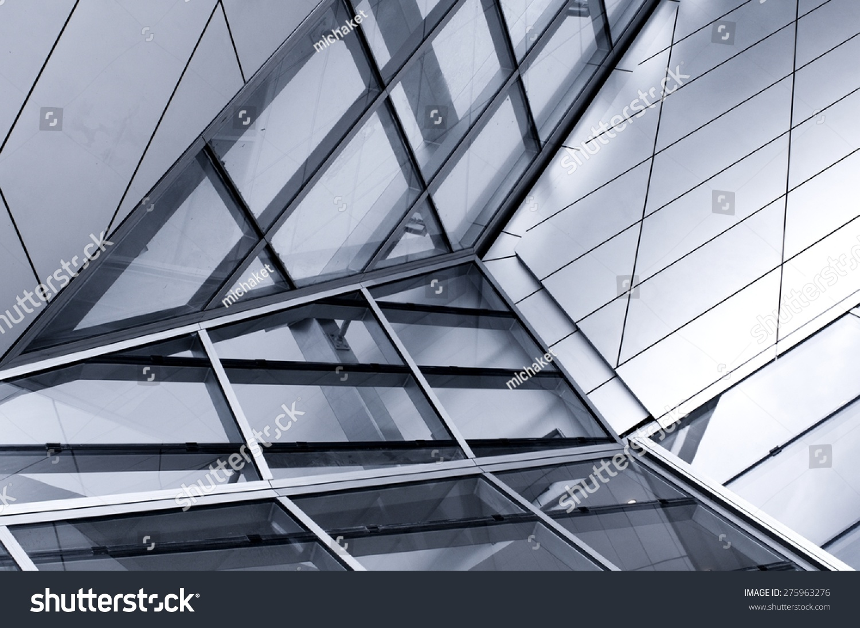 High Performance Glass Facade : High glass facade imagen de archivo stock