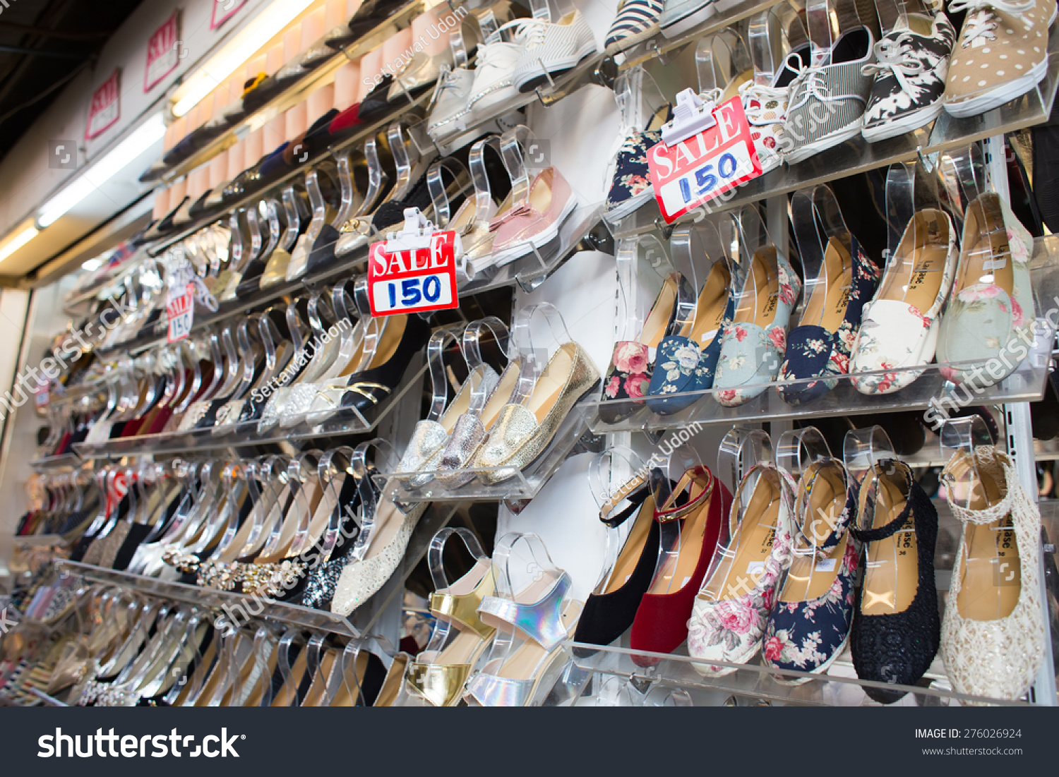 Chatuchak Market Home Decor Bangkok Thailand March 15 View Shoes Stock Photo 276026924