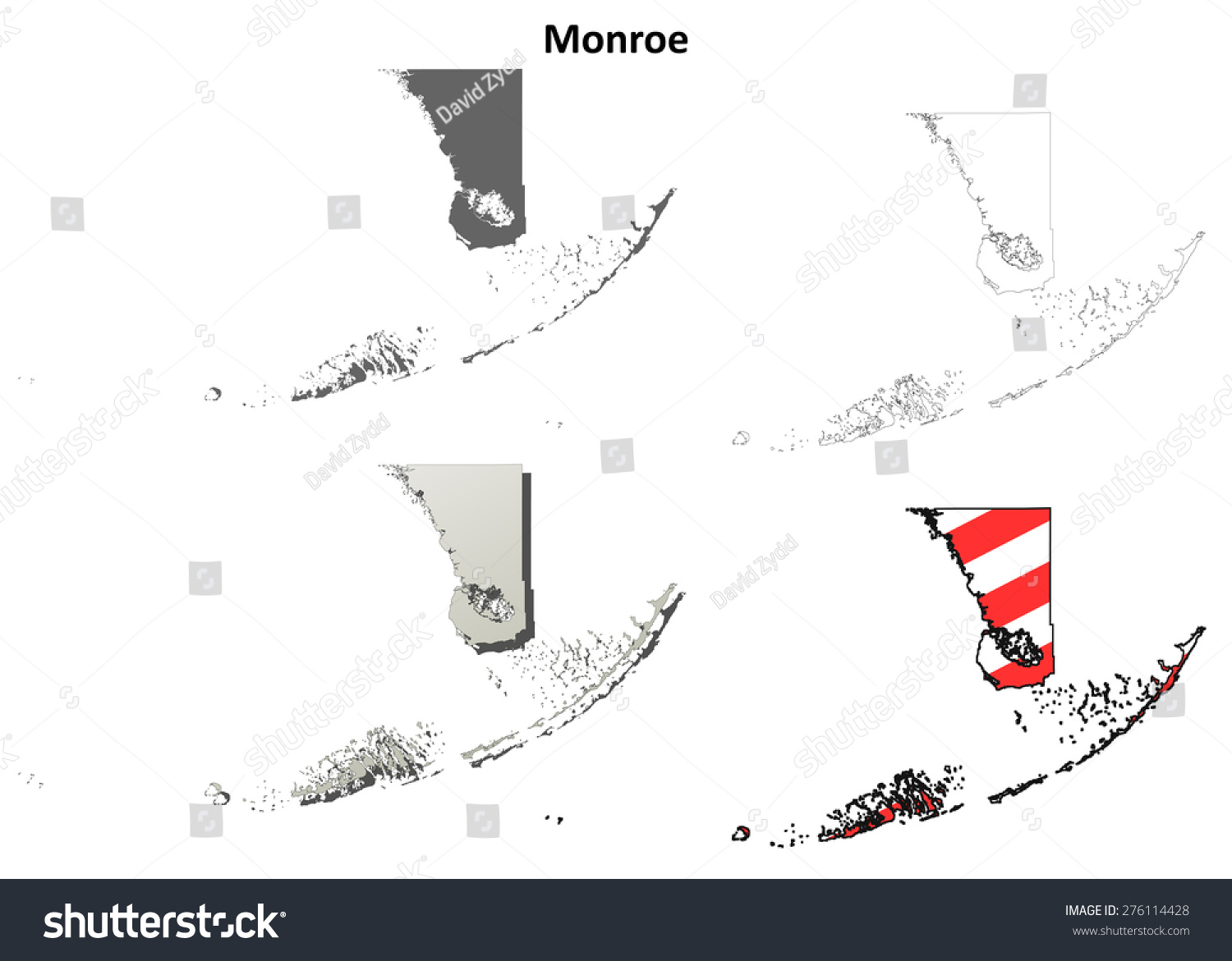 stock-vector-monroe-county-florida-outline-map-set-276114428 Universal Turn Signal Switch Wiring Diagram Vintage Hot Rod on gm turn signal switch diagram, ford turn signal switch diagram, flhx turn signal wire diagram, 2858 turn signal switch diagram, 3 wire led light wiring diagram, truck-lite turn signal diagram, chevy turn signal diagram, universal turn signal parts diagram, gmc 3500 truck wiring diagram,