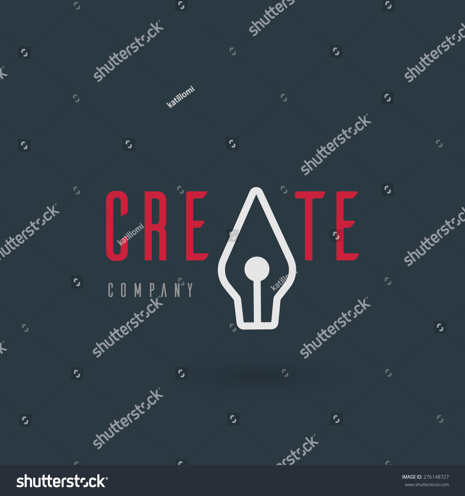 Vector graphic illustration fountain pen symbol stock vector vector graphic illustration of a fountain pen symbol with sample text for your company biocorpaavc Choice Image