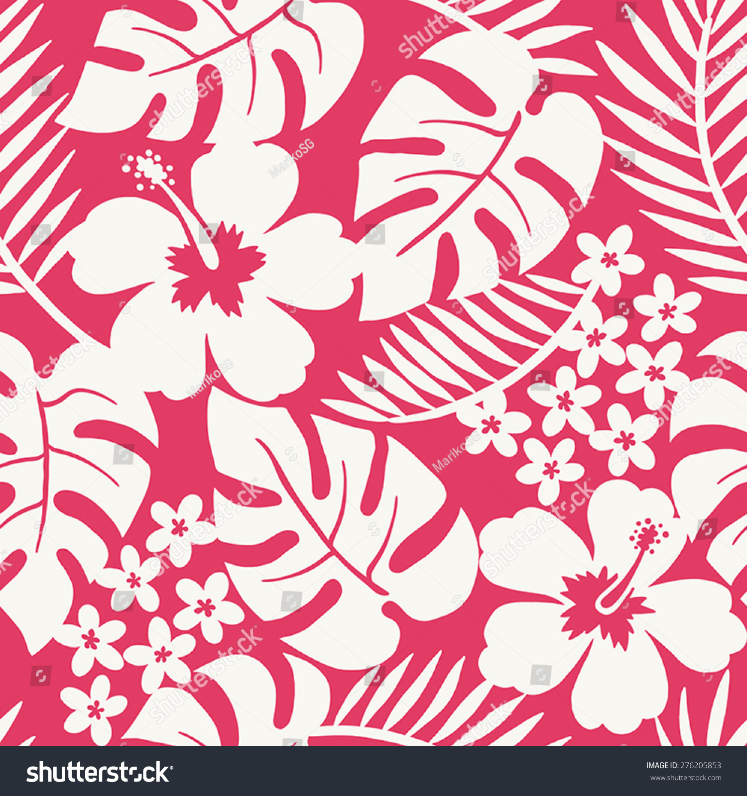 Seamless one color tropical flower pattern stock photo photo seamless one color tropical flower pattern izmirmasajfo