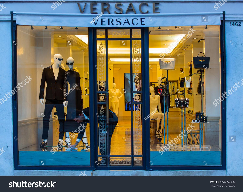 Venice italy march 20 2015 versace stock photo 276357386 venice italy march 20 2015 versace boutique in venice versace is biocorpaavc Gallery