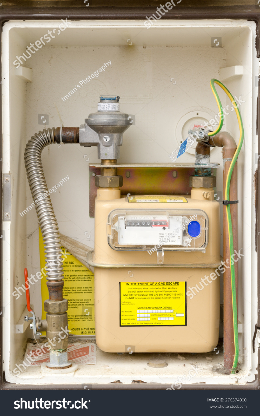 Natural Gas Meter Installation Requirements
