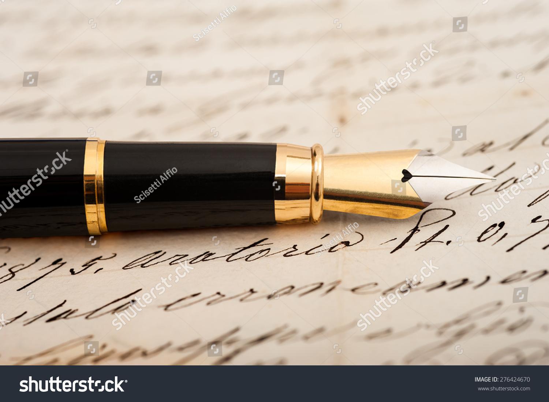 fountain pen letters