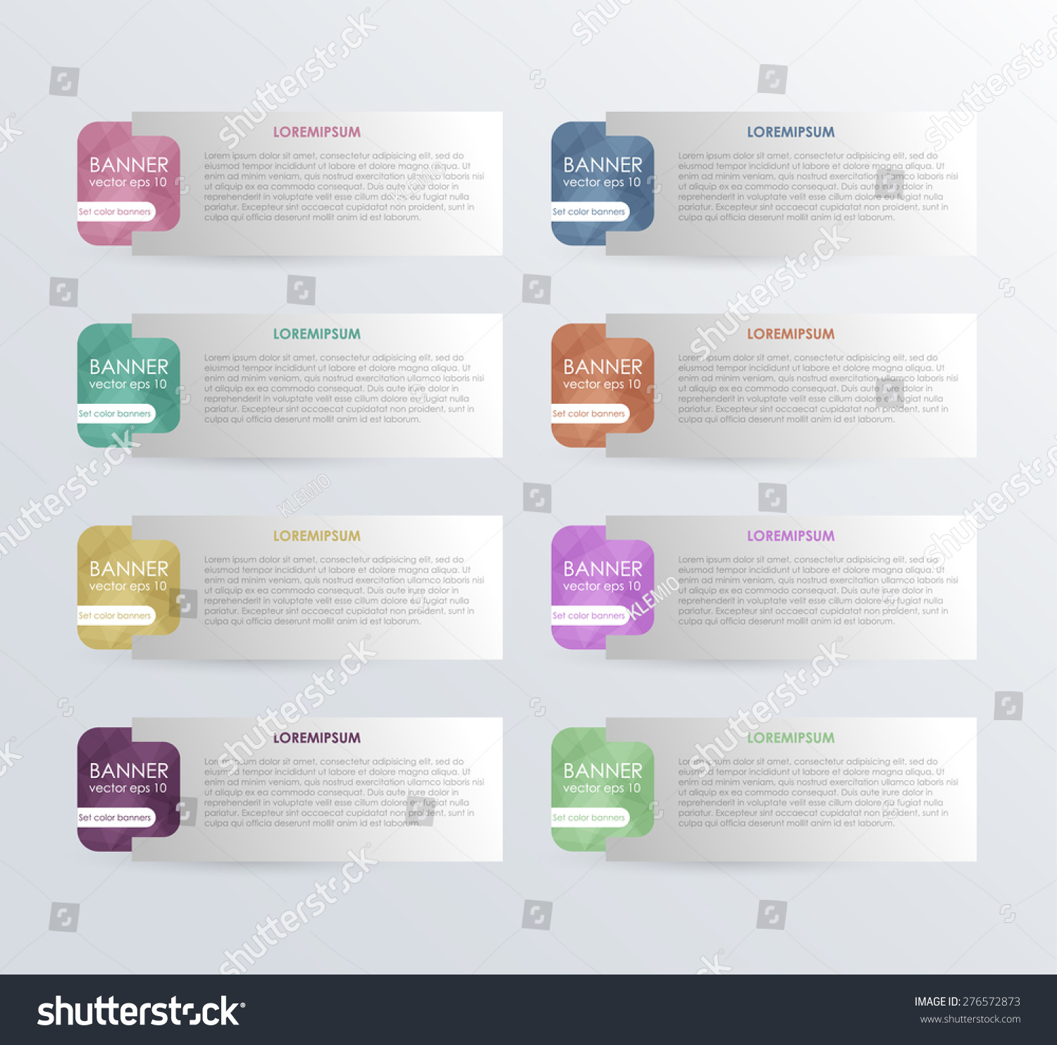 Business Infographics Tabs Template Presentation Education Stock
