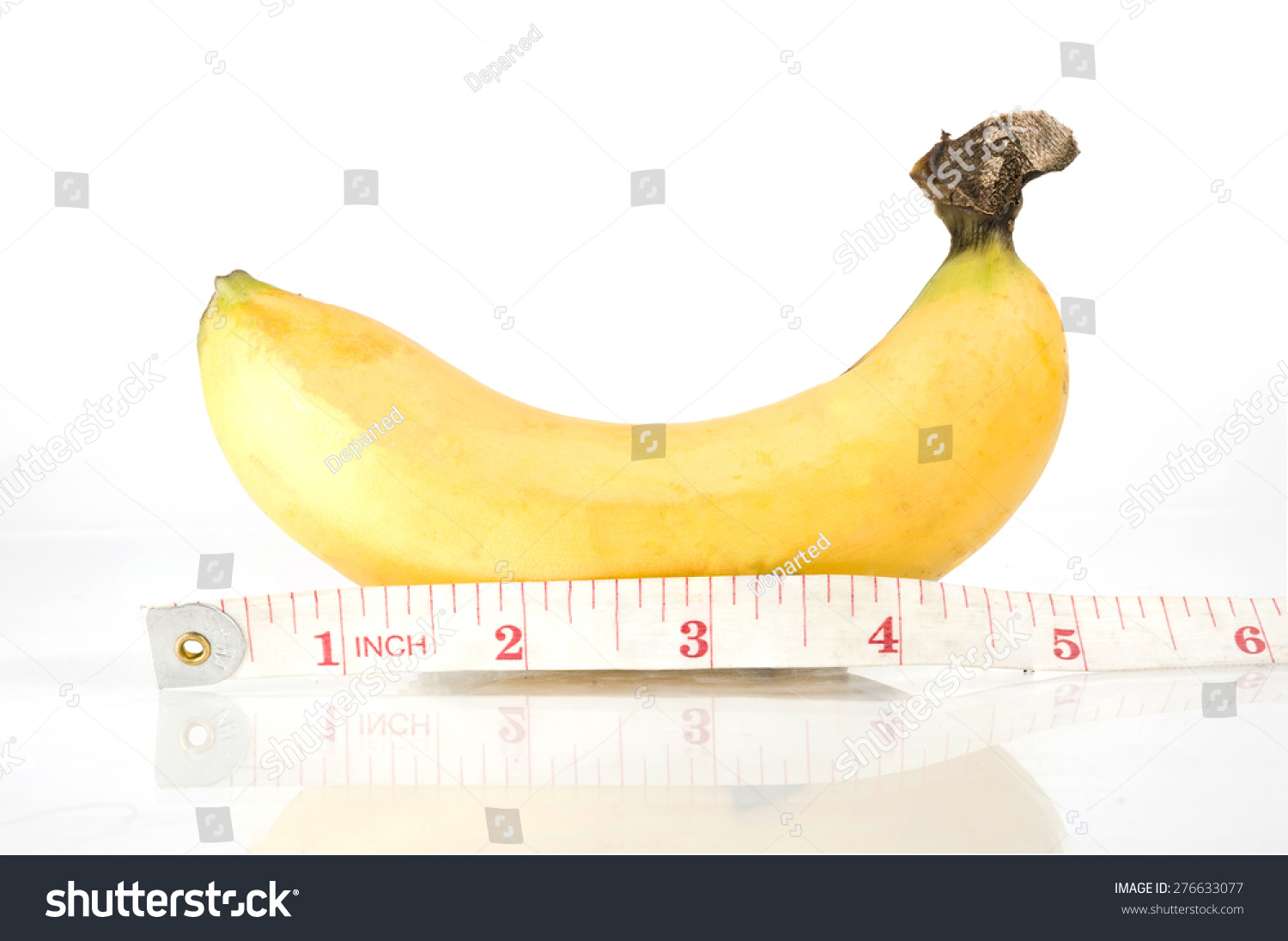 Ripen Yellow Banana Measuring Measurement Tape Stock Photo 276633077 - Shutterstock-9225