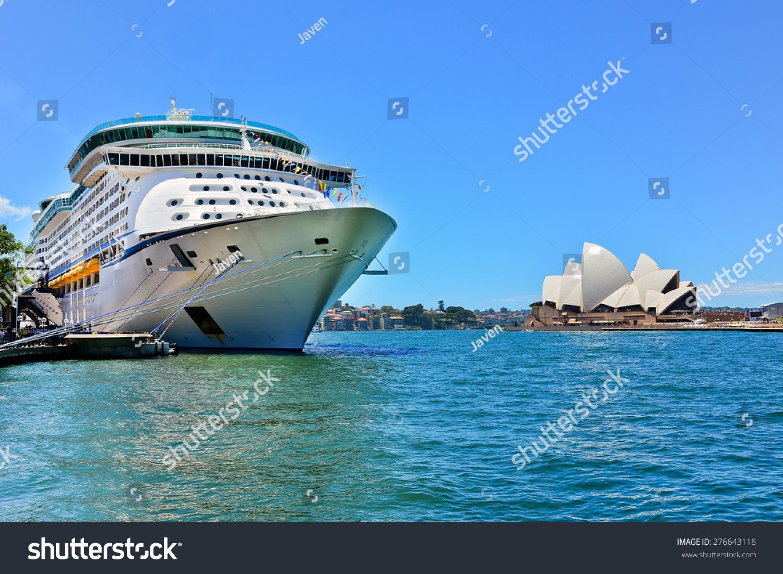 Sydney Australia  January 25 Sydney Opera House And A