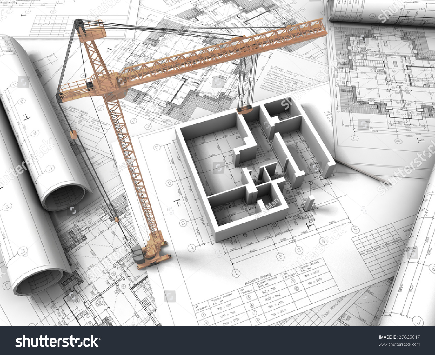 3d plan drawing stock illustration 27665047 shutterstock for 3d plan drawing