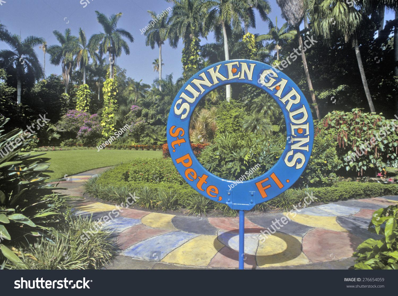 Sunken Gardens Florida 39 S Foremost Botanical Gardens St Petersburg Florida Stock Photo