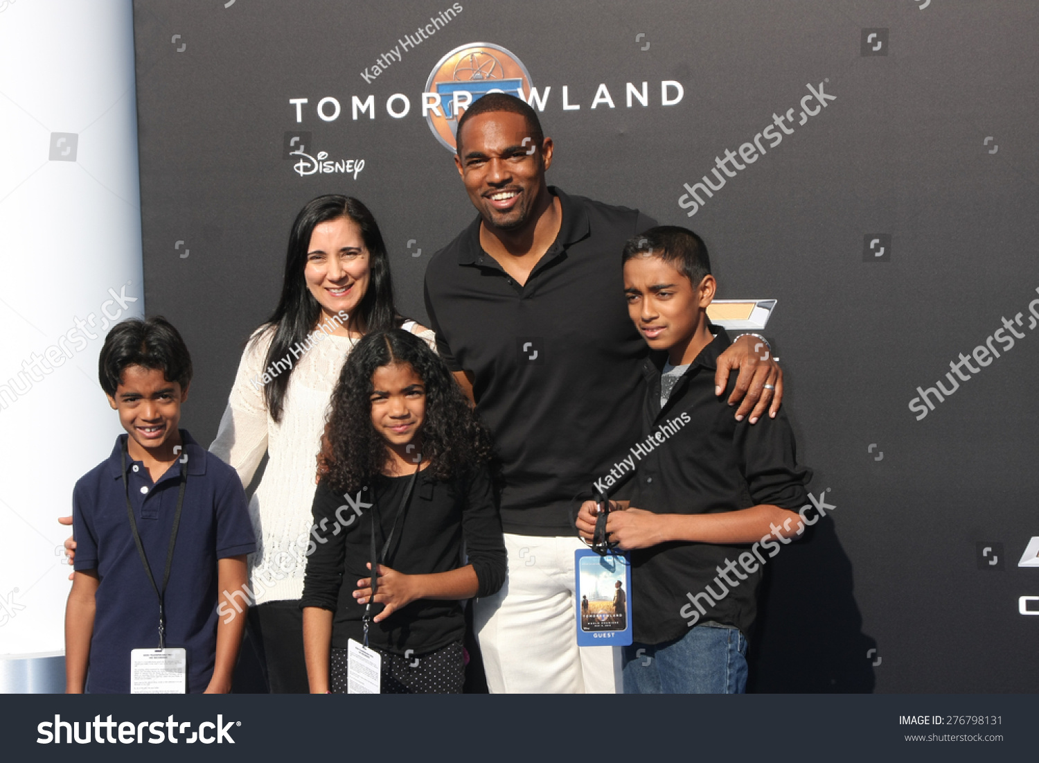 Jason George and family