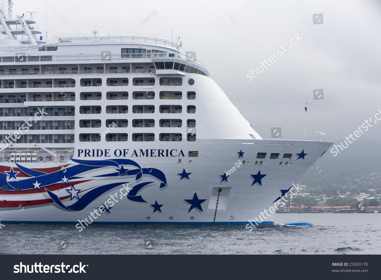 Ms pride of america norwegian cruise line - Kona Hi July 23 The Norwegan Cruise Lines Ship Pride Of
