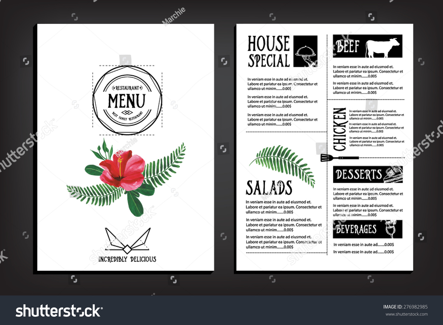 Bookplate Cafe Menu