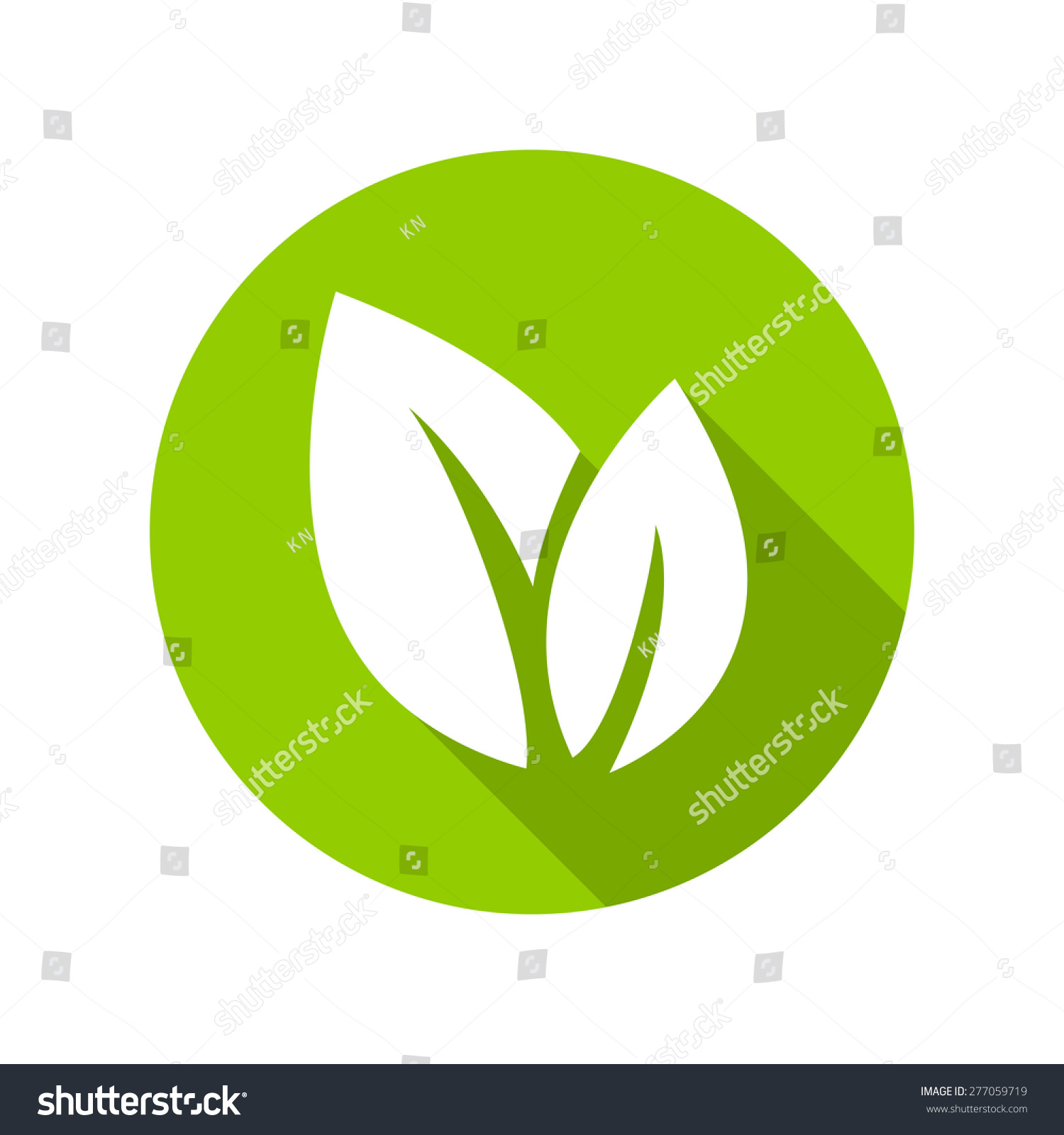 stock-vector-flat-leaves-icons-vector-illustration-leaf-icon-277059719 ...