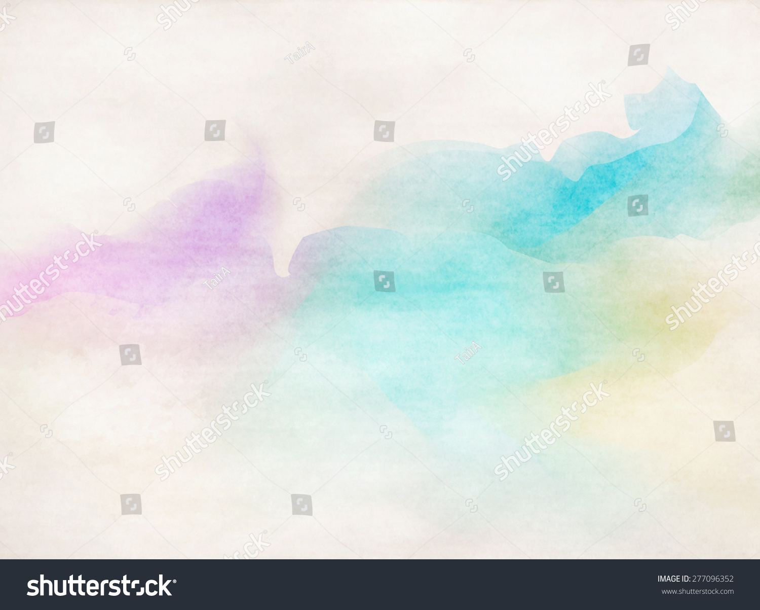 Colorful Watercolor Background. Grunge Paper Texture ...