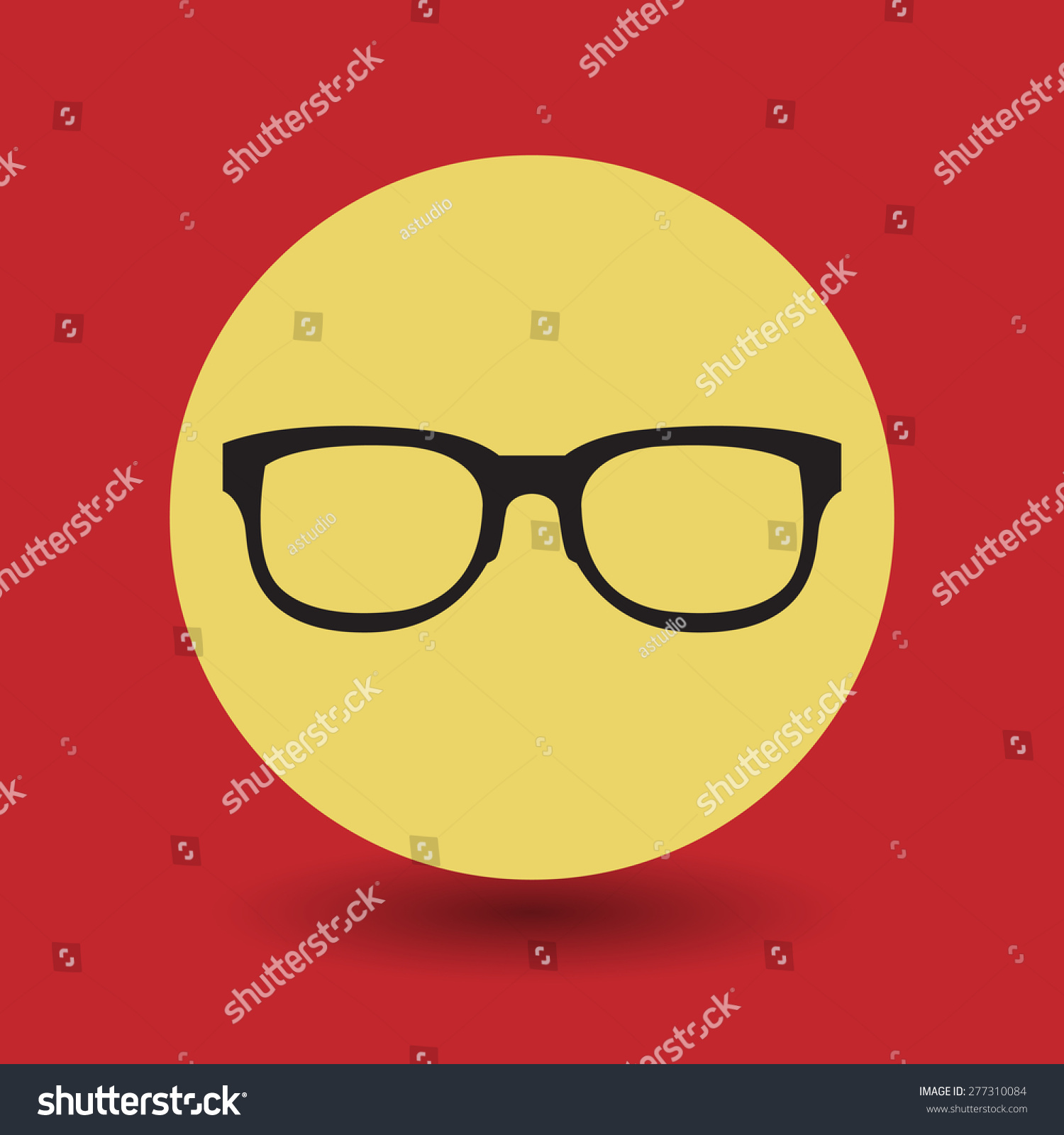 Glasses Symbol Vector Illustration Ez Canvas