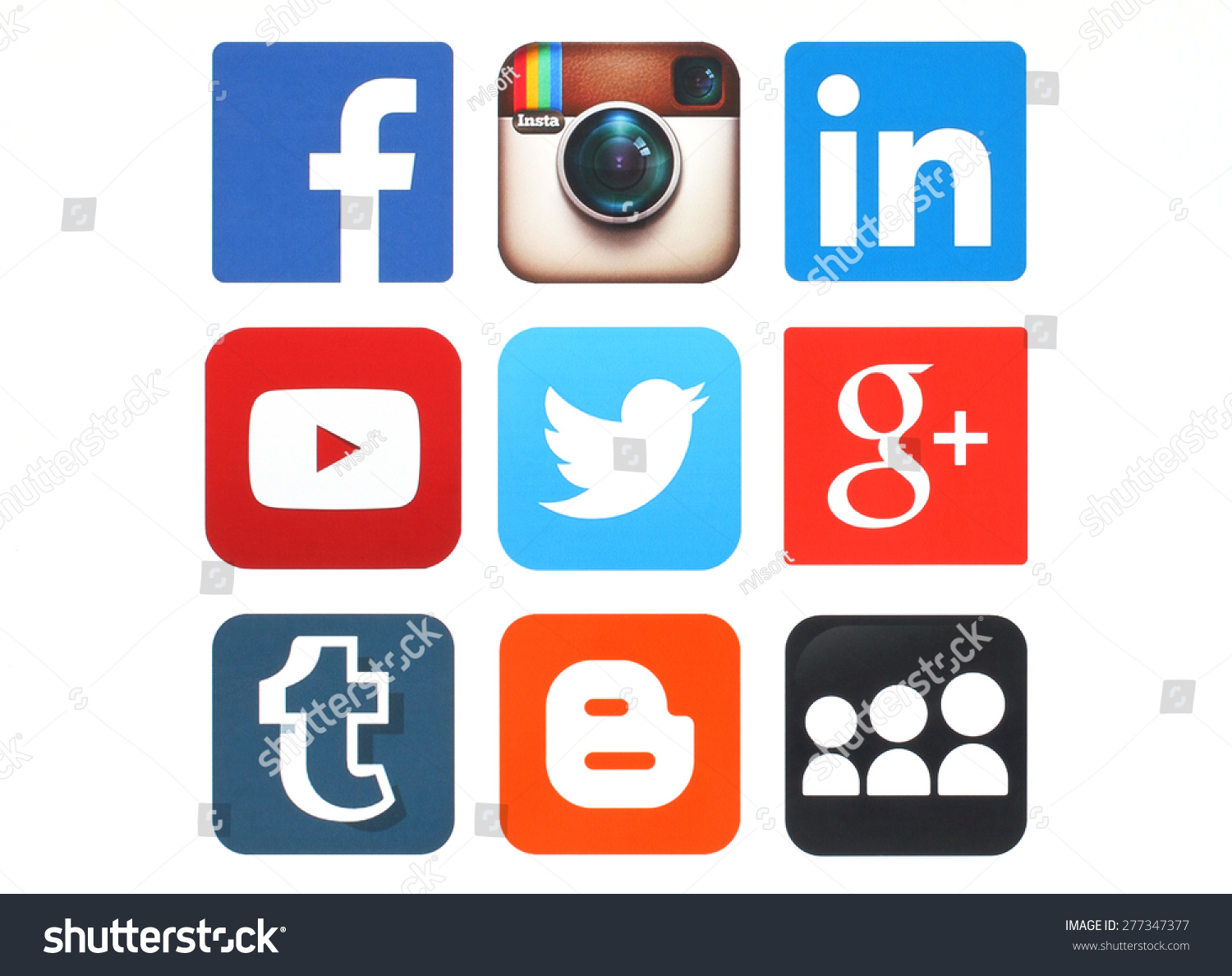 Stock images royalty free images vectors shutterstock stock photo kiev ukraine may collection of popular social media logos printed on paper facebook 277347377g biocorpaavc Image collections