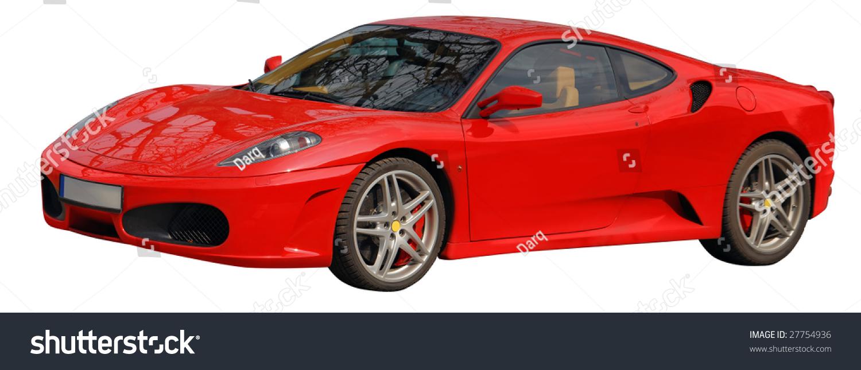 Ferrari Italian Car Image Cut Out Stock Photo Shutterstock