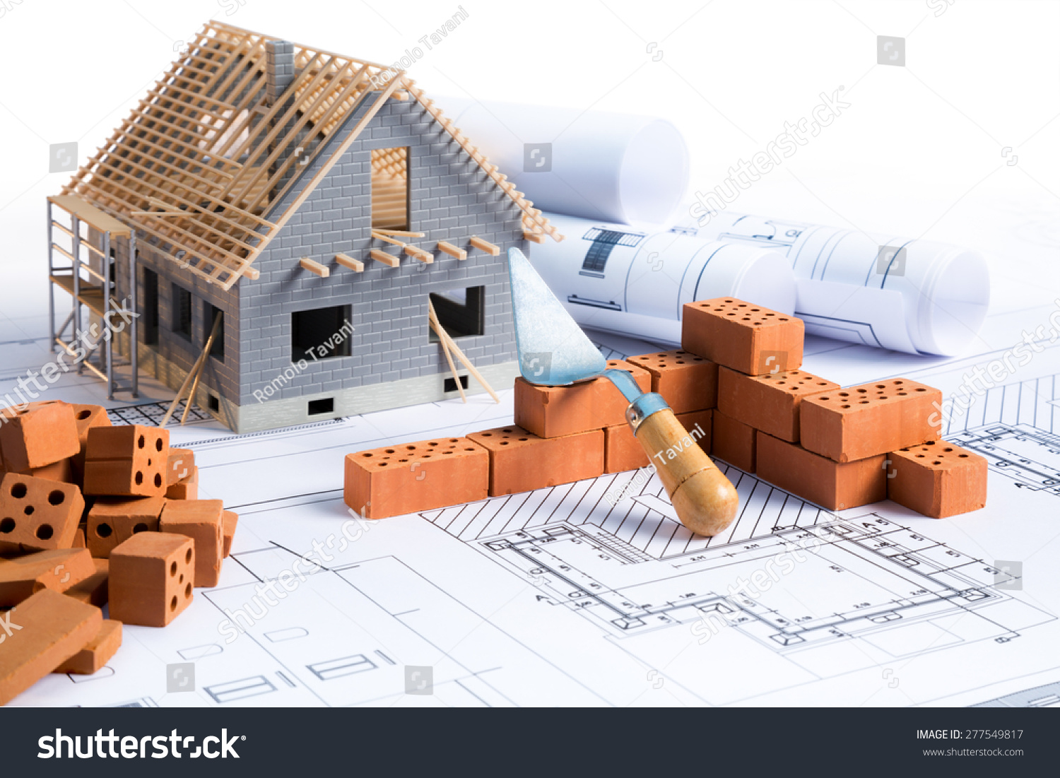 Project on construction of house