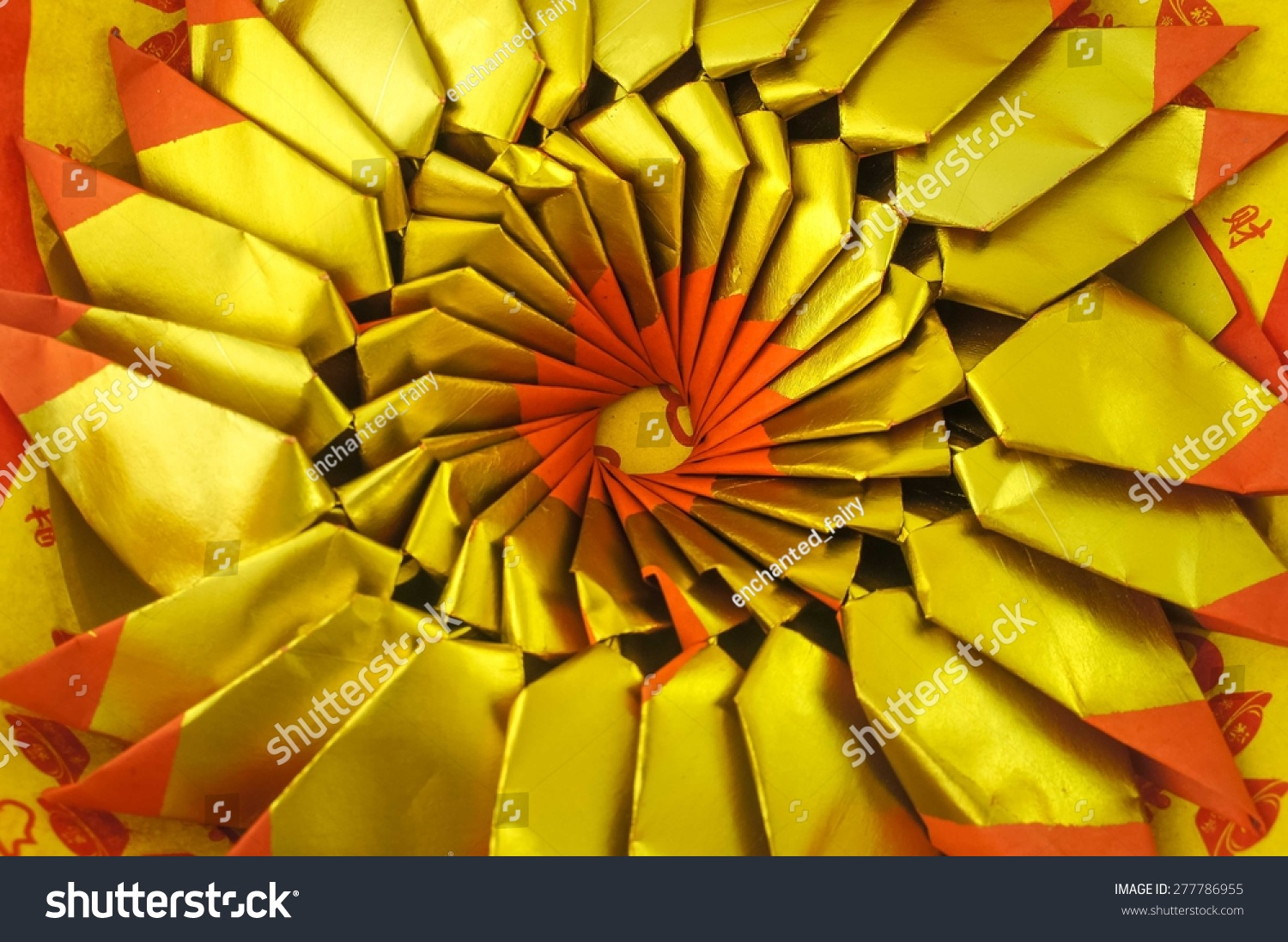 Pattern Joss Paper Chinese Tradition Passed Stock Photo Edit Now