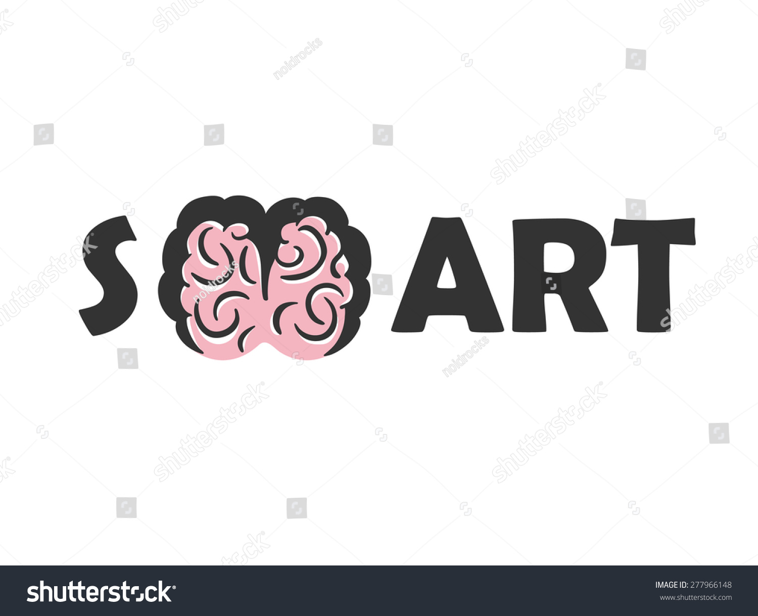 Education Art Logo Vector Design Template Stock Vector