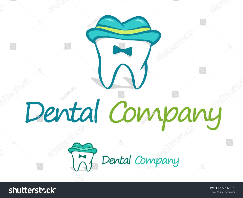 Dentist Logo Vector Design Template Playful Stock Vector Royalty