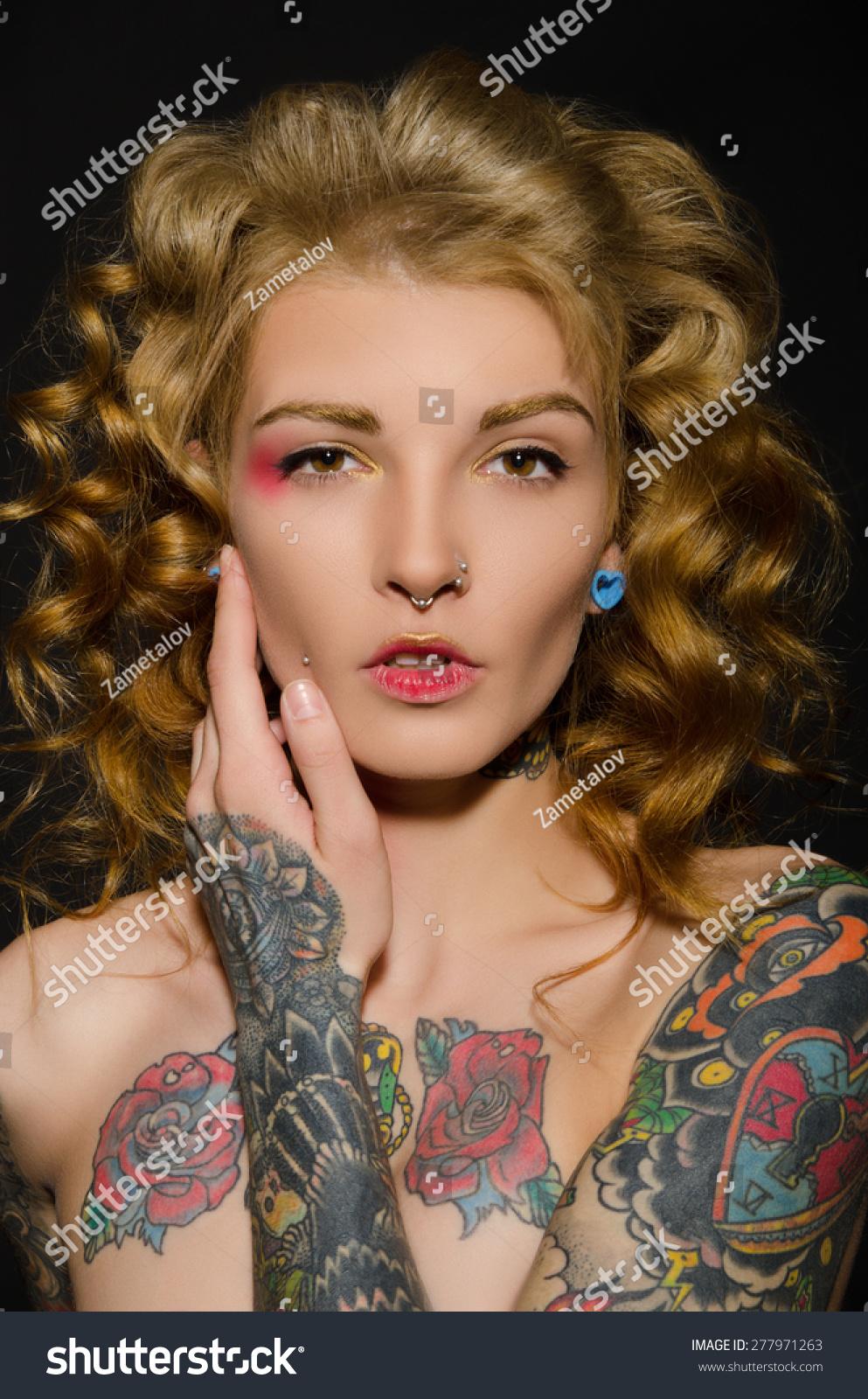 Blonde tattoo