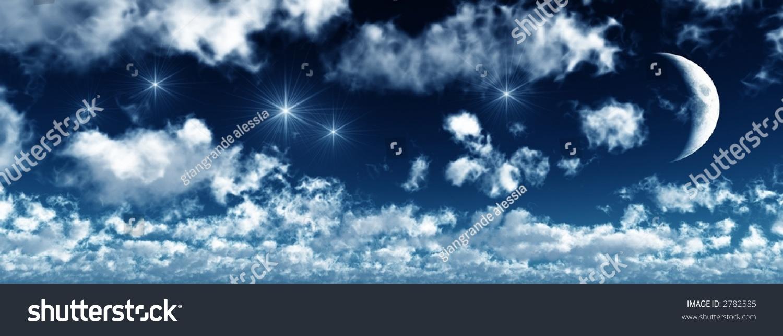 Starry Night Background Stock Photo 2782585 : Shutterstock