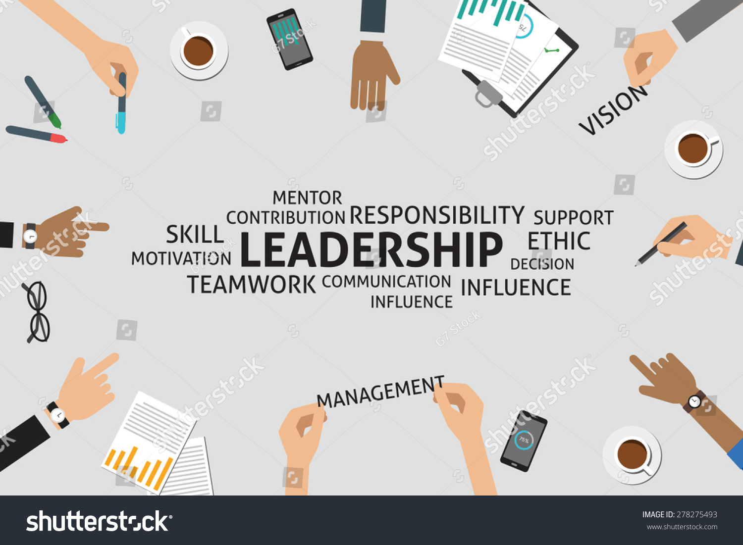 Vector Leadership Concepttemplate Stock Vector (Royalty Free ...