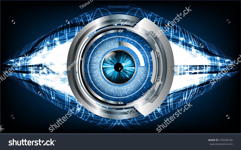 Blue Technology: Blue Eyeball Future Technology, Security Concept