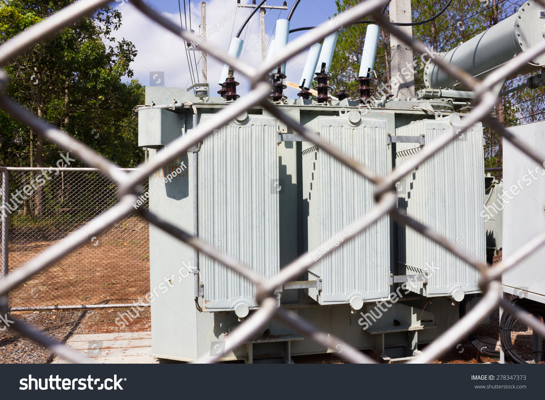 Automatic Voltage Regulator Part Electric Power Stock Photo (Edit ...