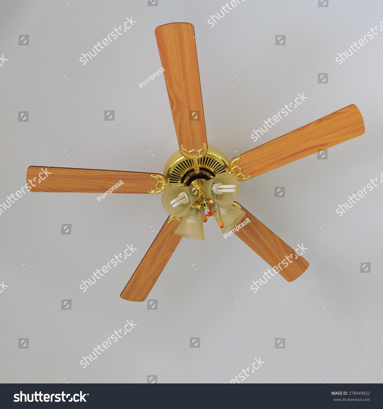 Electric Ceiling Fan Stock Shutterstock