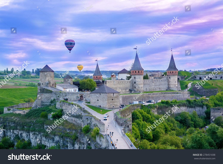 Kamyanetspodilskyi ukraine may 15 2015 festival stock for Sun castle