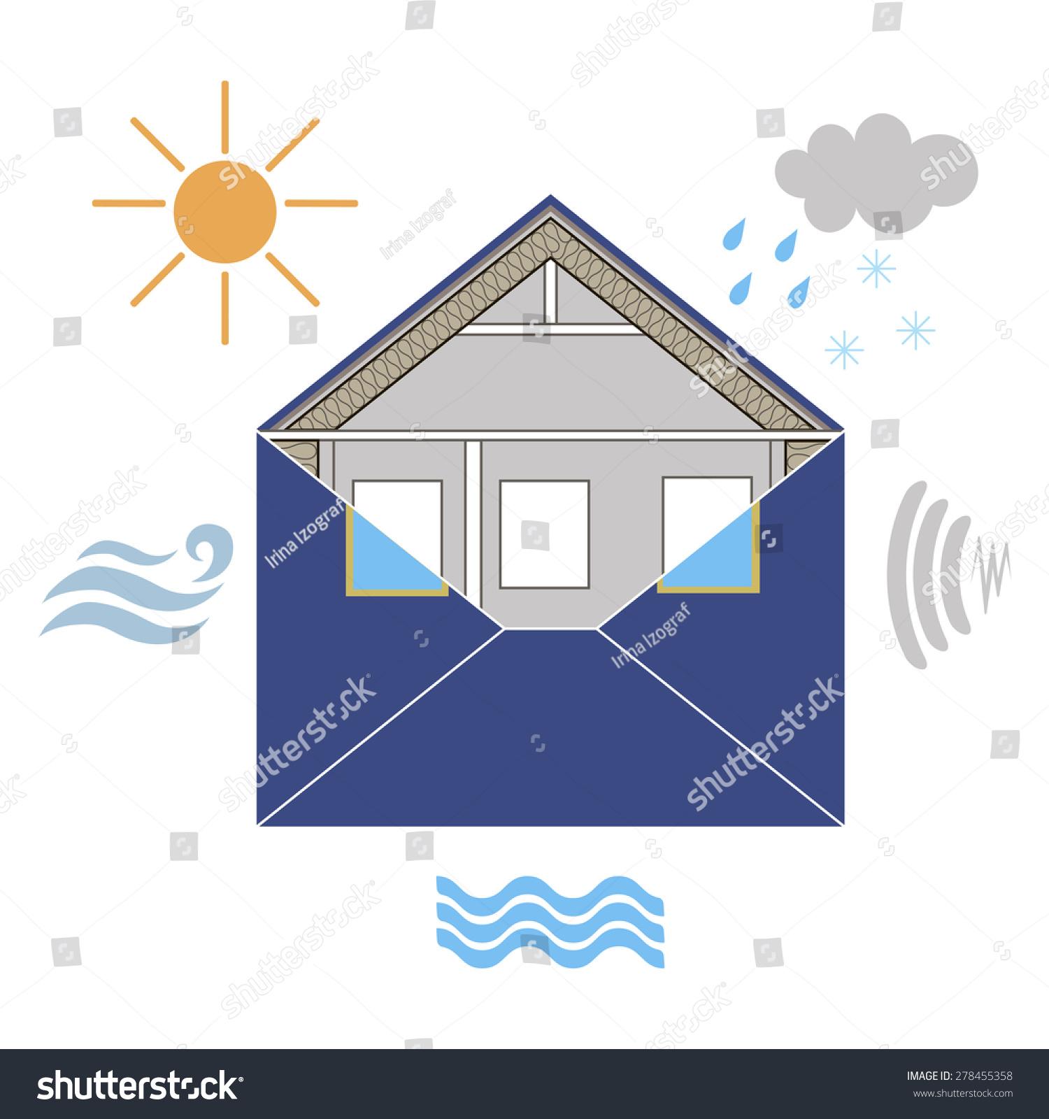 House Building Envelope Energy Efficiency Weatherization