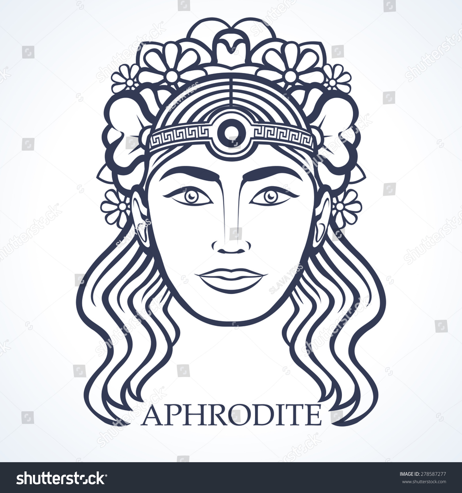 Royalty Free Aphrodite Greek Goddess Of Beauty 278587277 Stock
