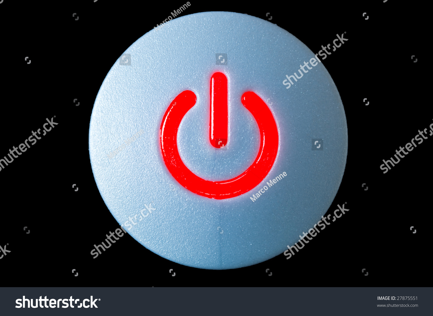 Power Button Symbol Start Stop Energy Stock Photo Edit Now