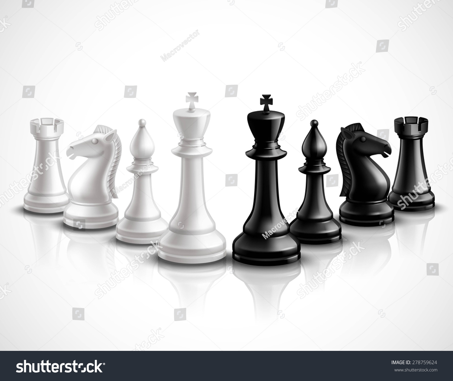 Realistic chess game pieces 3d icons set with reflection Where can i buy a chess game