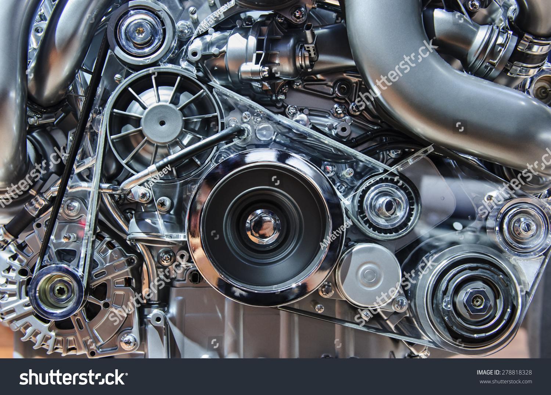 Royalty-free Car engine, modern automobile motor… #278818328 Stock ...