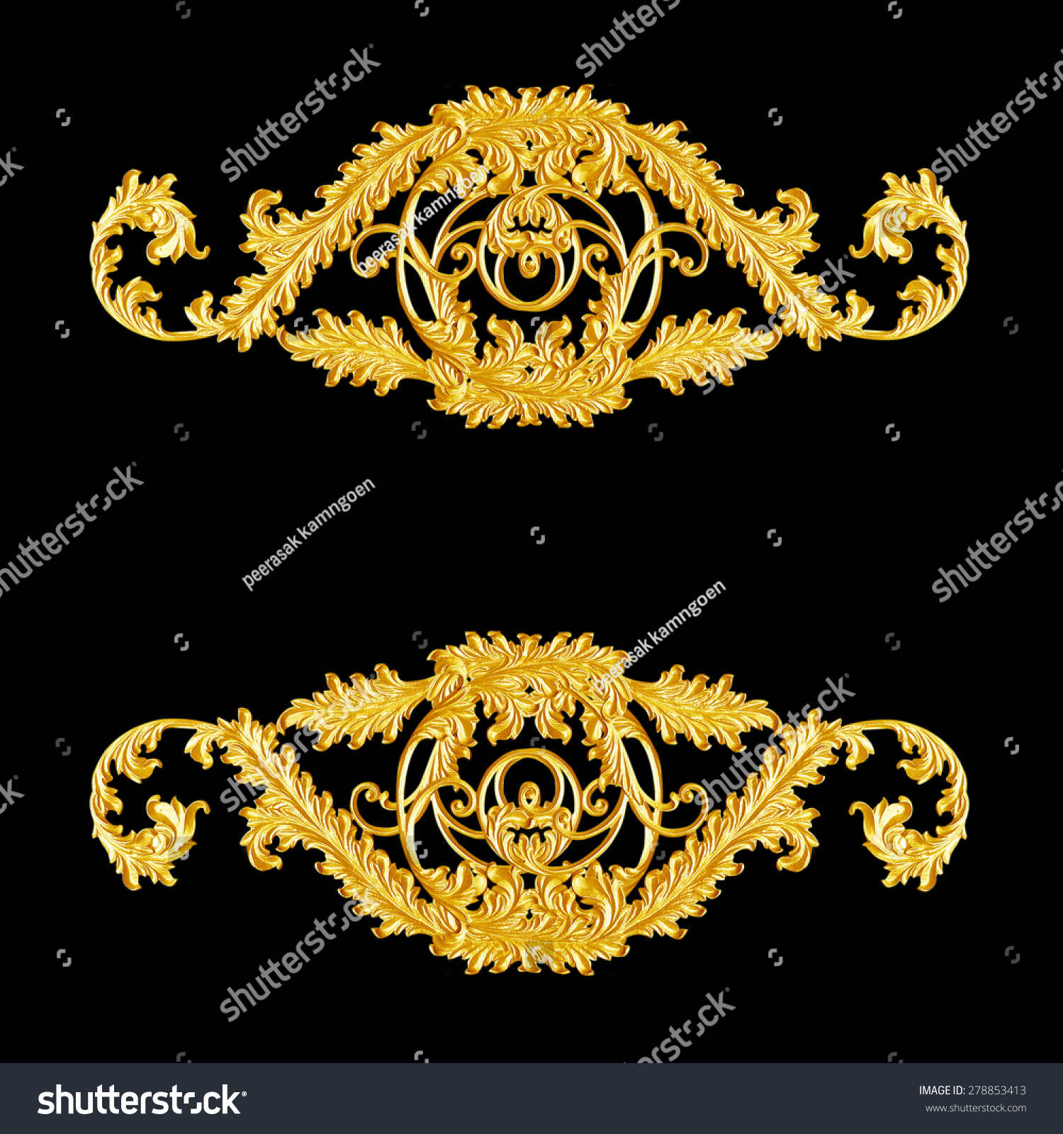 design frame gold vector art clip search illustration vintage
