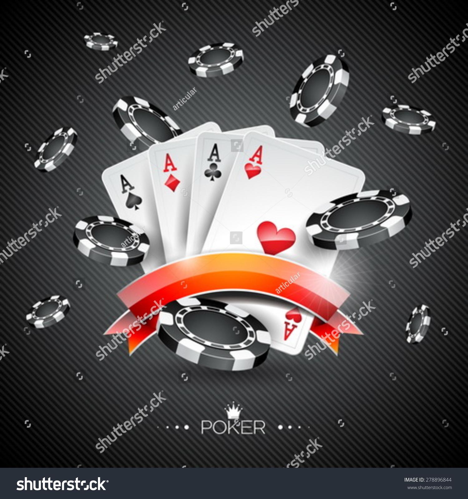 Poker stock images